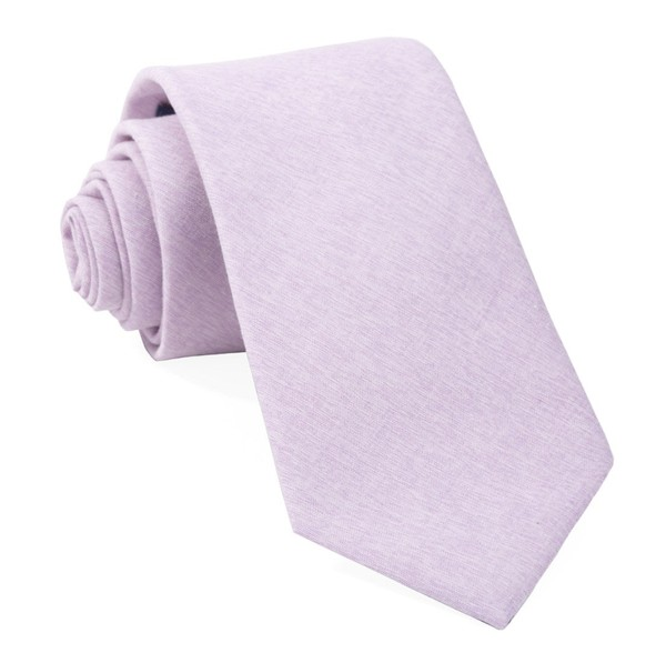 Sunset Solid Lavender Tie