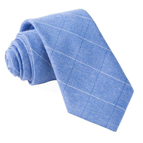 Daybreak Checks Blue Tie