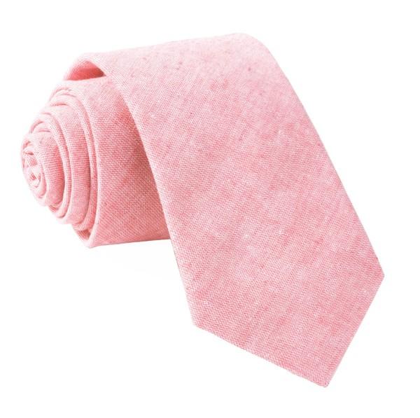 Solid Breeze Pink Tie