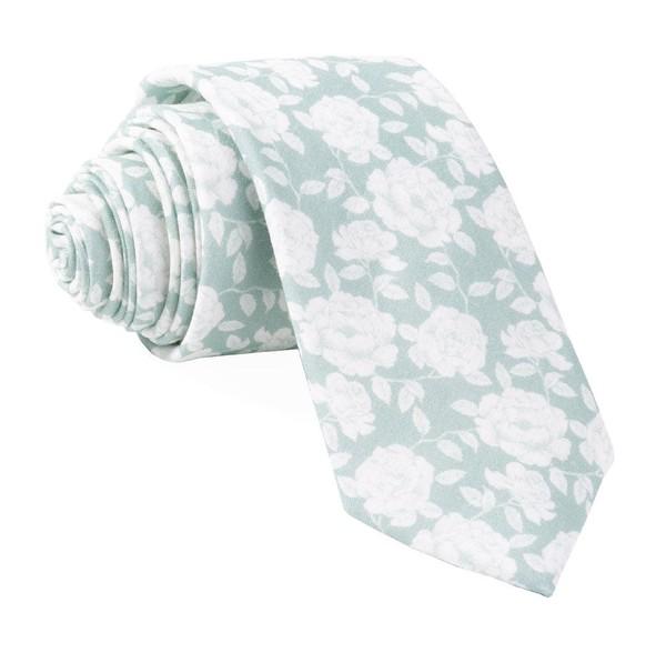 Bhldn Floral Gala Morning Mist Tie