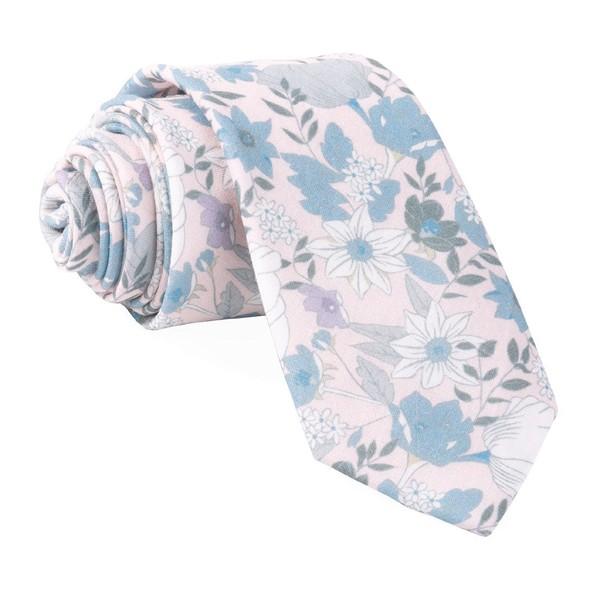 Bhldn Floral Daydream Blush Pink Tie