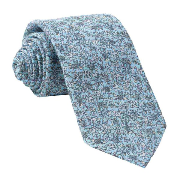 Wild Rosa Light Blue Tie