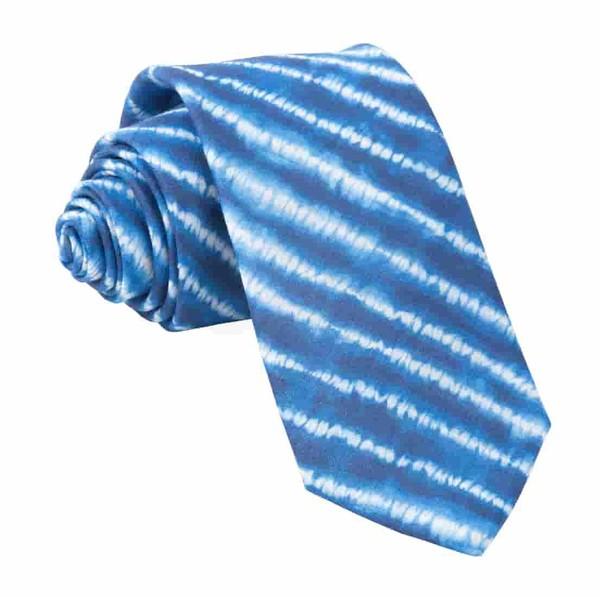 Day Dreamer Stripe Navy Tie