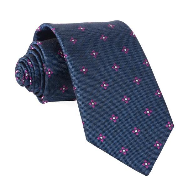 Prairie Geo Navy Tie