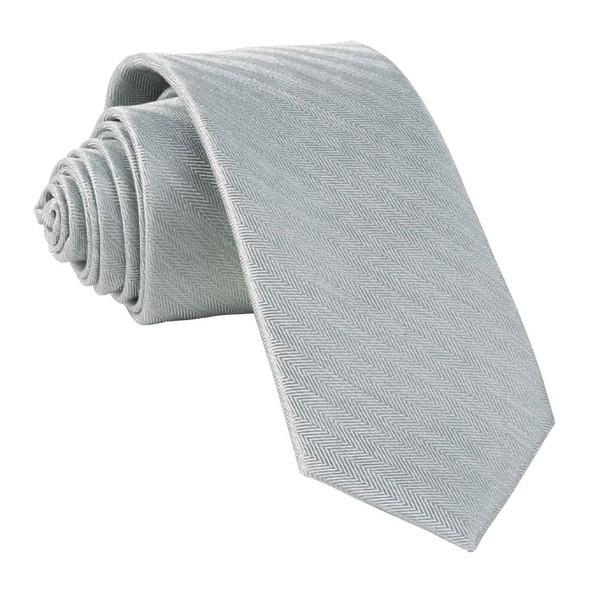 Mumu Weddings - Desert Solid Silver Sage Tie