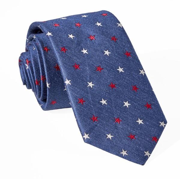 Star Spangled Navy Tie