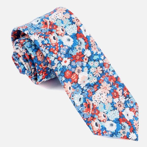 Liberty Thorpe Hill Classic Blue Tie