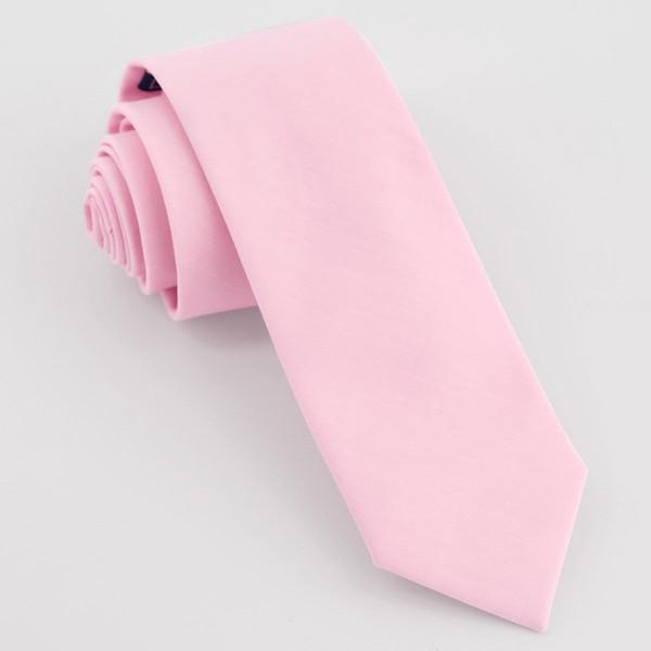 Sundown Solid Pink Tie