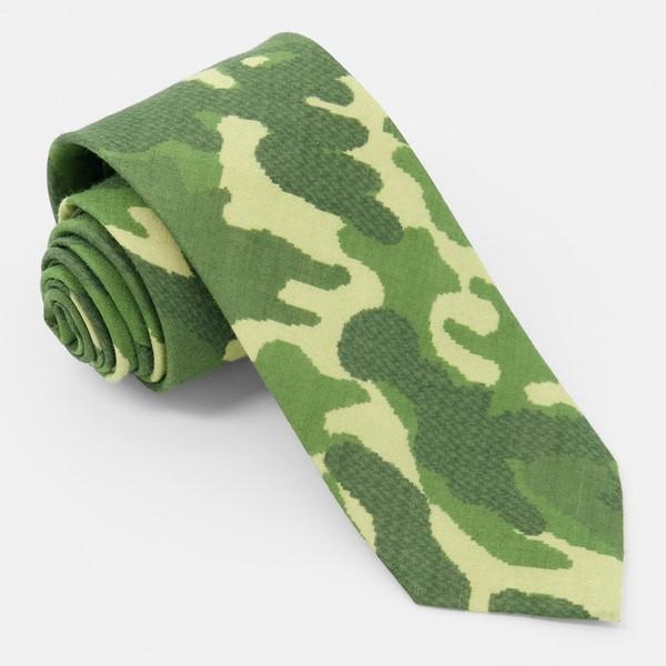 City Safari Olive Tie