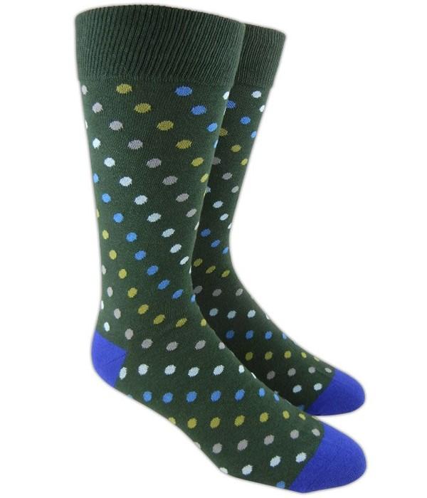 Spotlight Hunter Green Dress Socks