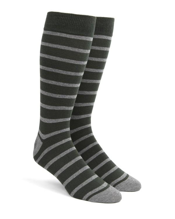 Trad Stripe Hunter Dress Socks