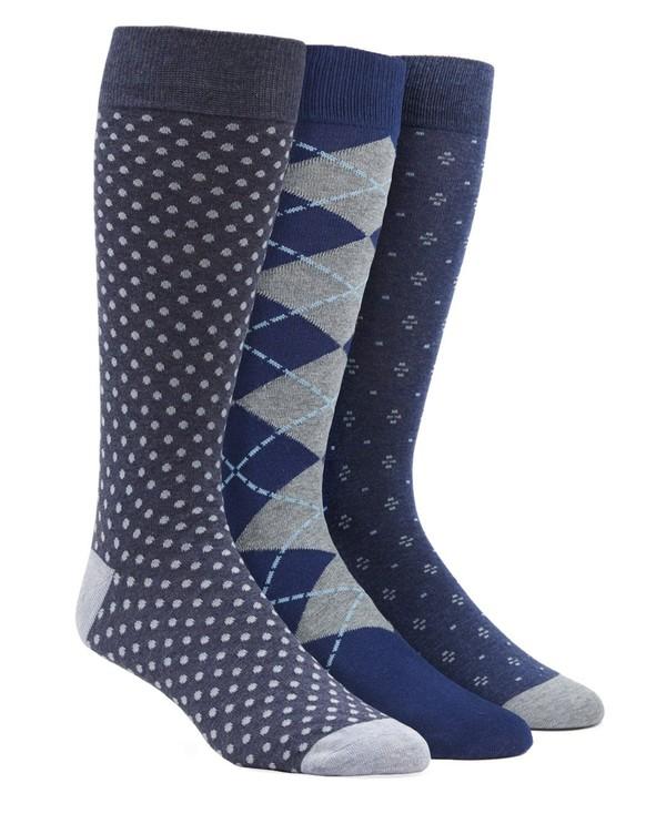 Classic Navy Sock Pack Dress Socks