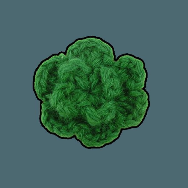 Colored Lapel Flower Emerald Lapel Flower Pin