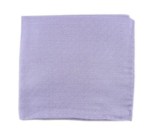 Solid Linen Lavender Pocket Square