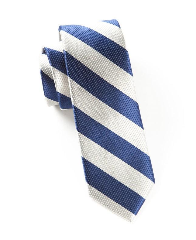 Classic Twill Light Silver Tie