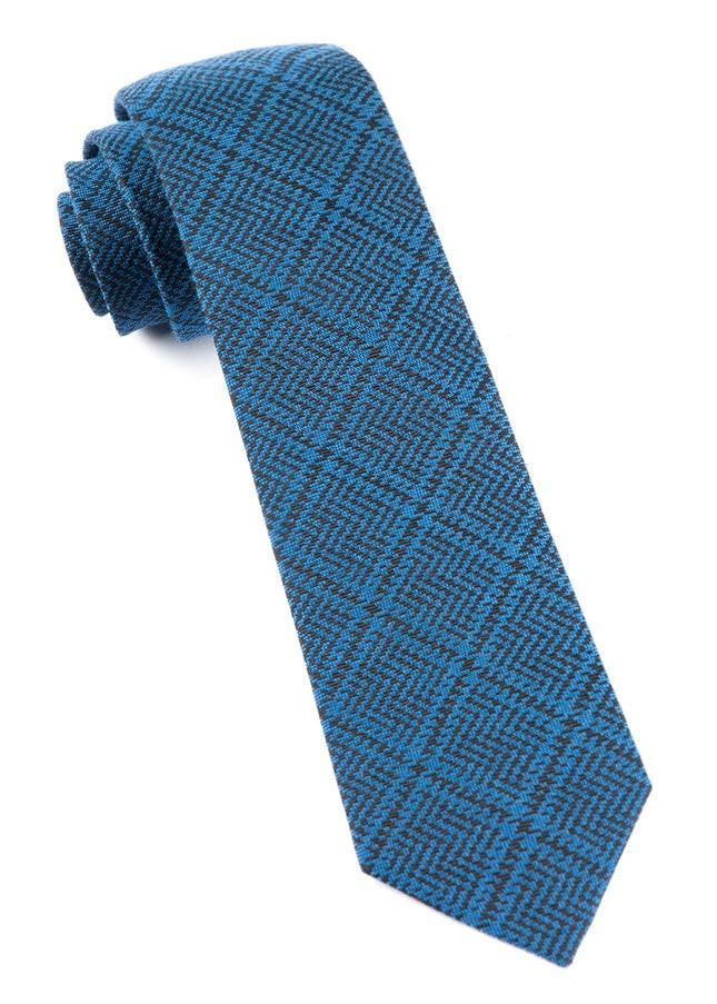 The Signature Plaid Serene Blue Tie