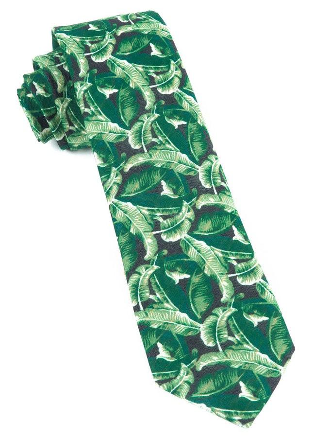 Tiki Shack By Dwyane Wade Hunter Green Tie