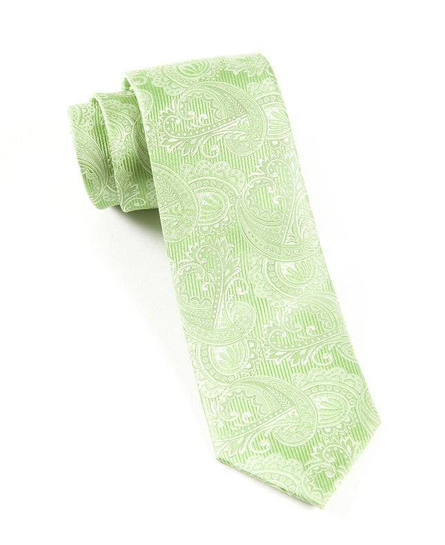 Twill Paisley Apple Tie