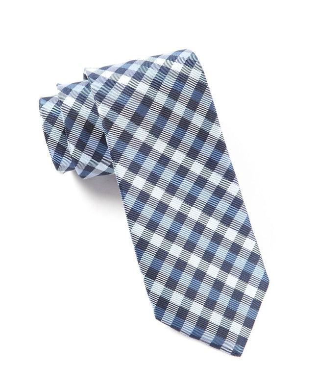 Prepster Plaid Blues Tie