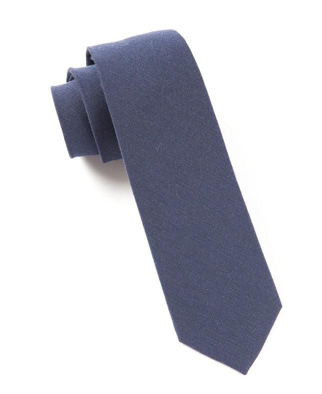 The Signature Navy Tie