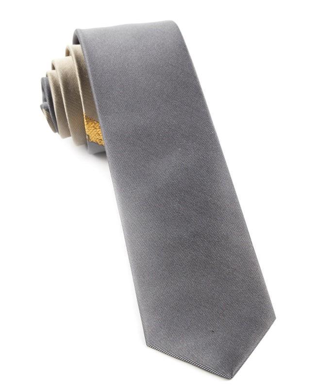 The Stripe Before By Dwyane Wade Grey Tie