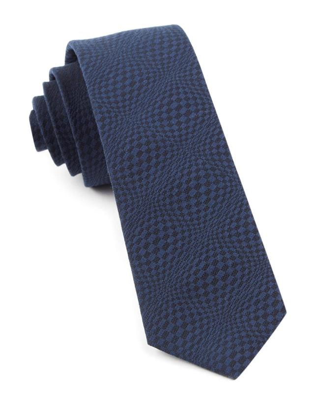 Check List By Dwyane Wade Deep Serene Blue Tie