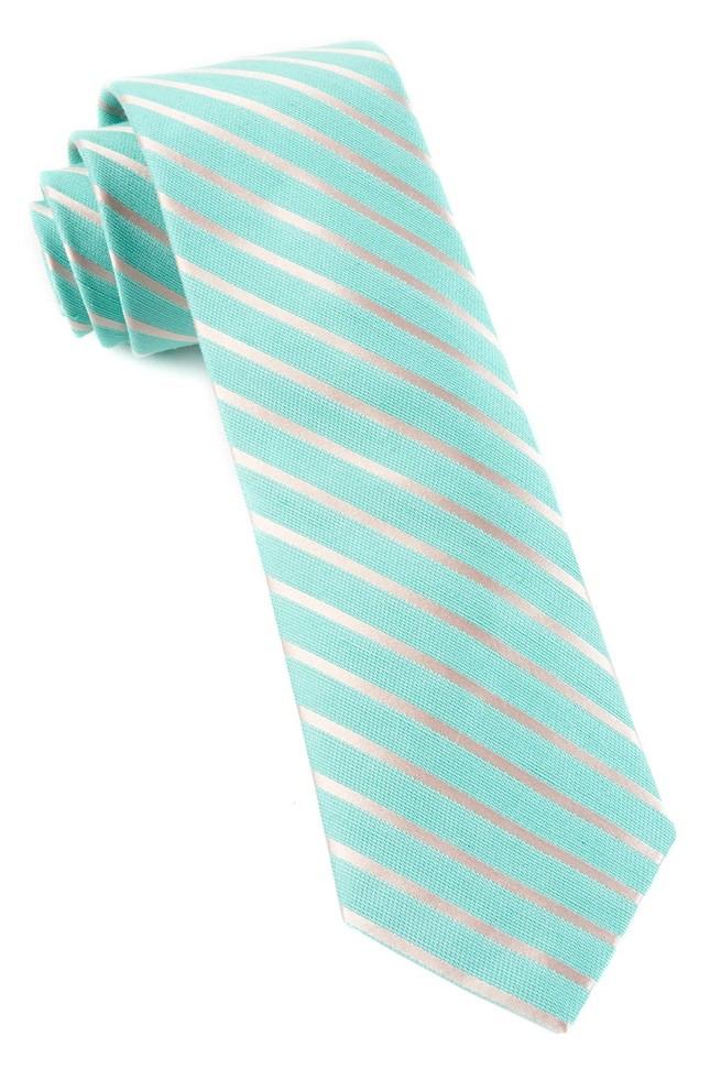 Aisle Runner Stripe Mint Tie