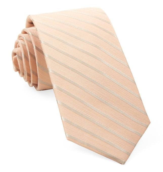 Aisle Runner Stripe Peach Tie