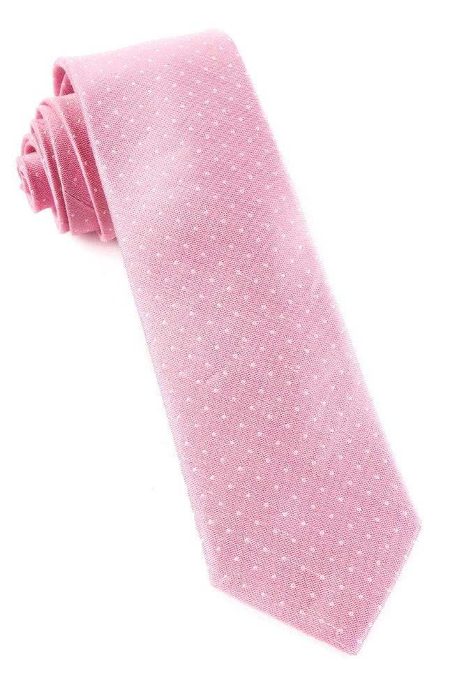 Destination Dots Pink Tie