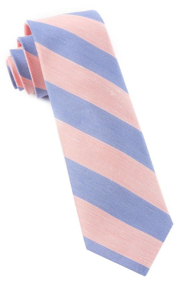Rsvp Stripe Peach Tie