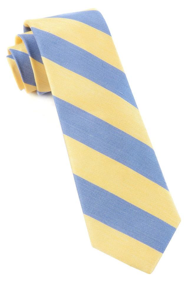 Rsvp Stripe Yellow Tie