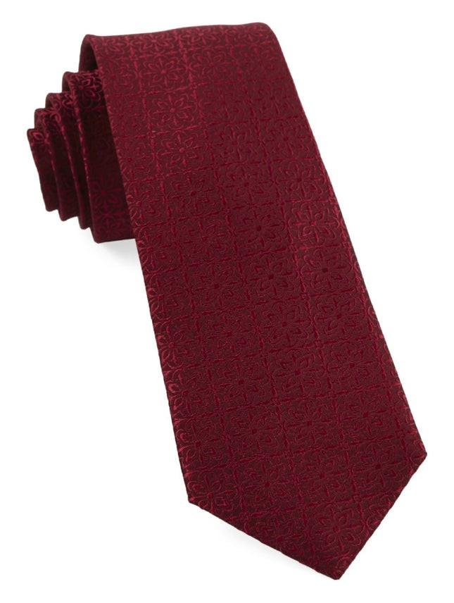Opulent Red Tie