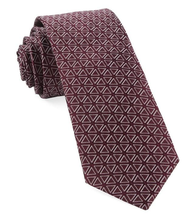 Triad Burgundy Tie