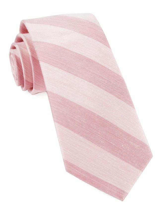 Rsvp Stripe Blush Pink Tie