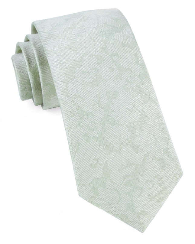Refinado Floral Spearmint Tie