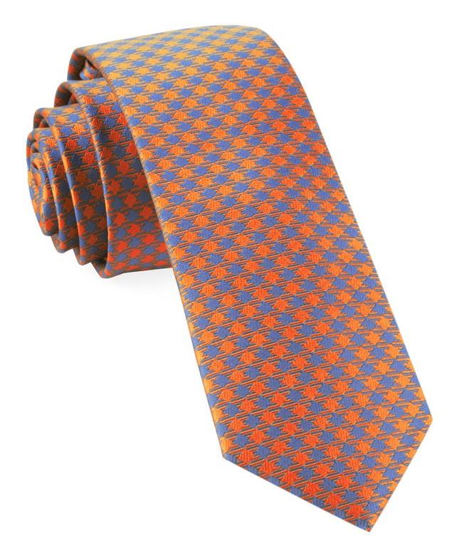 Commix Checks Tangerine Tie