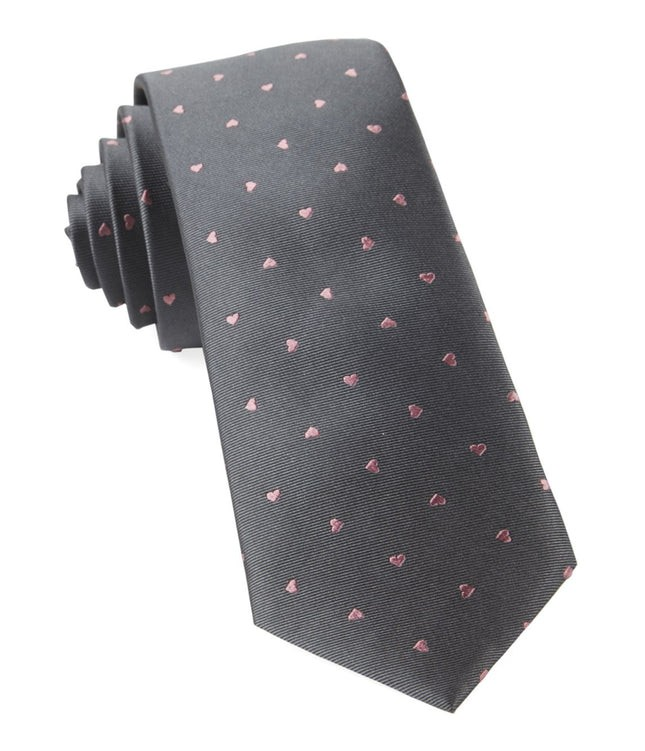Heart To Heart Grey Tie