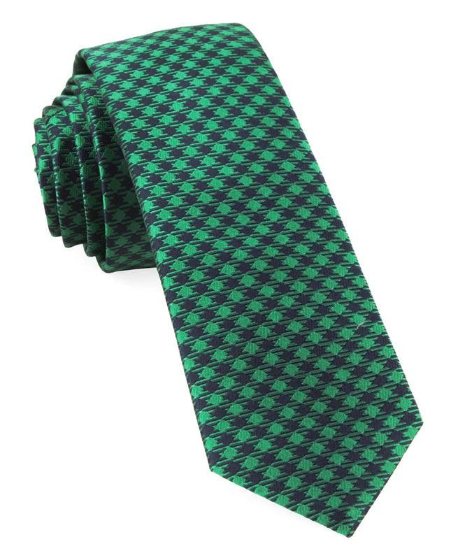 Commix Checks Kelly Green Tie