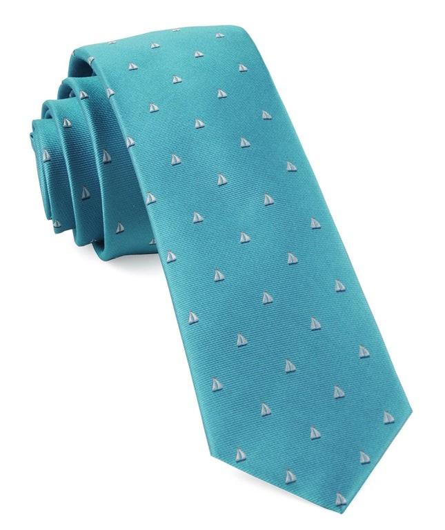 Sailboat Sprint Turquoise Tie