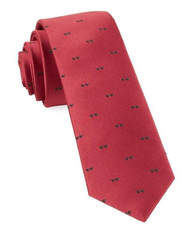 Sunglasses Persimmon Red Tie