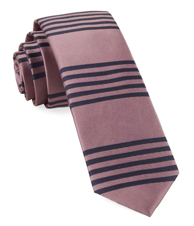 Turf Stripes Pink Tie