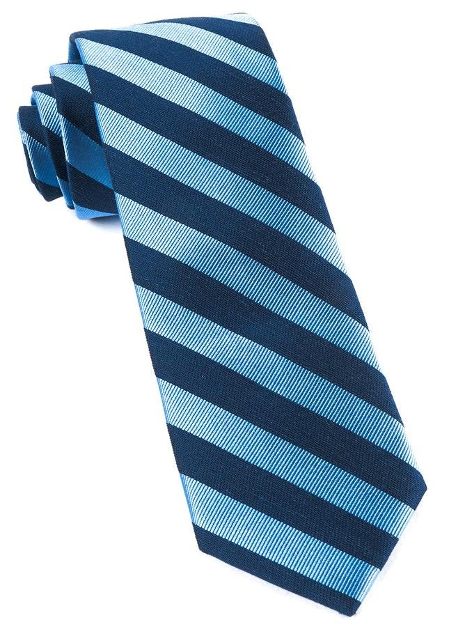 Lumber Stripe Light Blue Tie