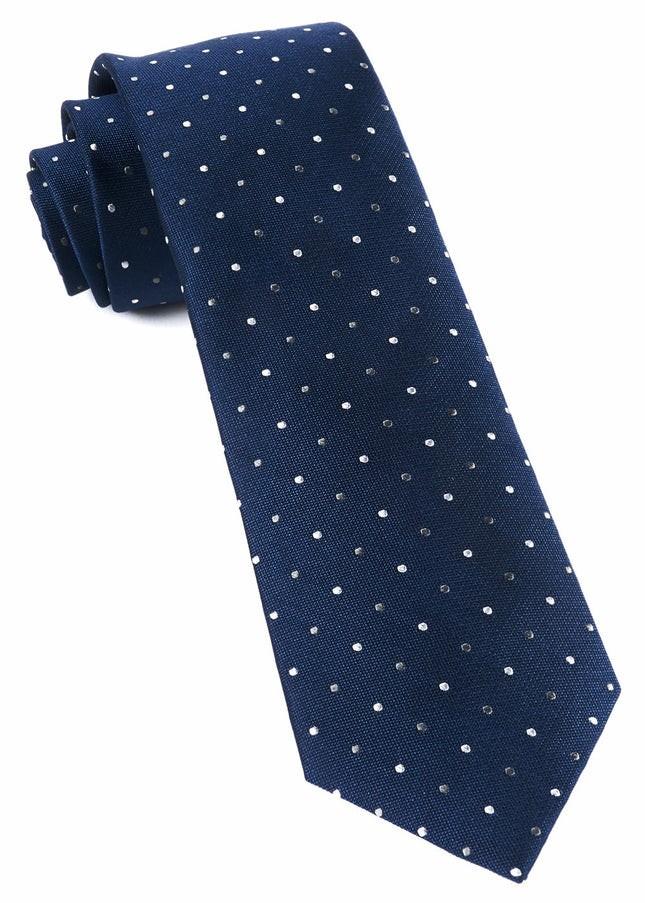 Jpl Dots Navy Tie
