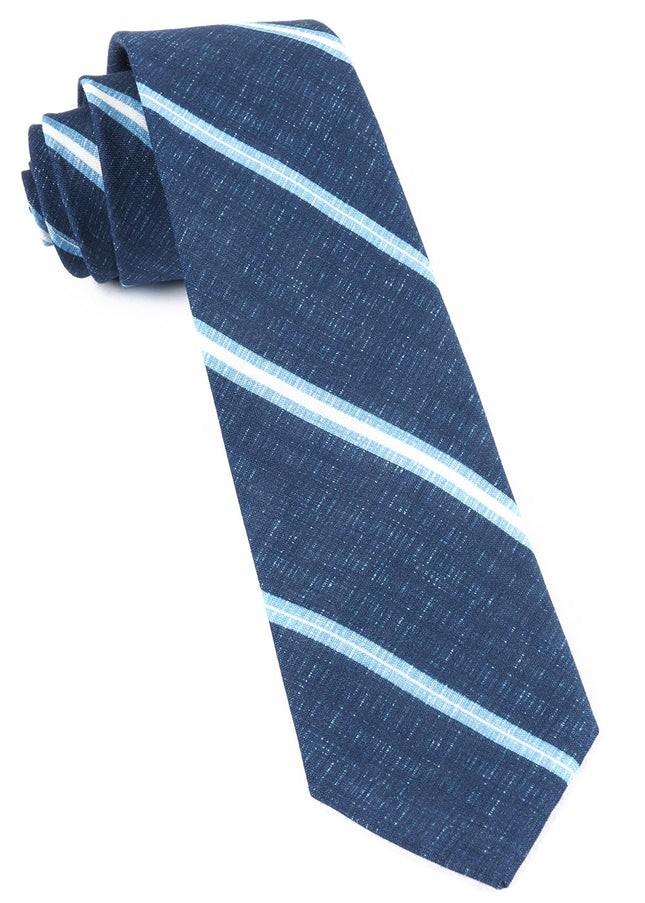 Spare Stripe Navy Tie