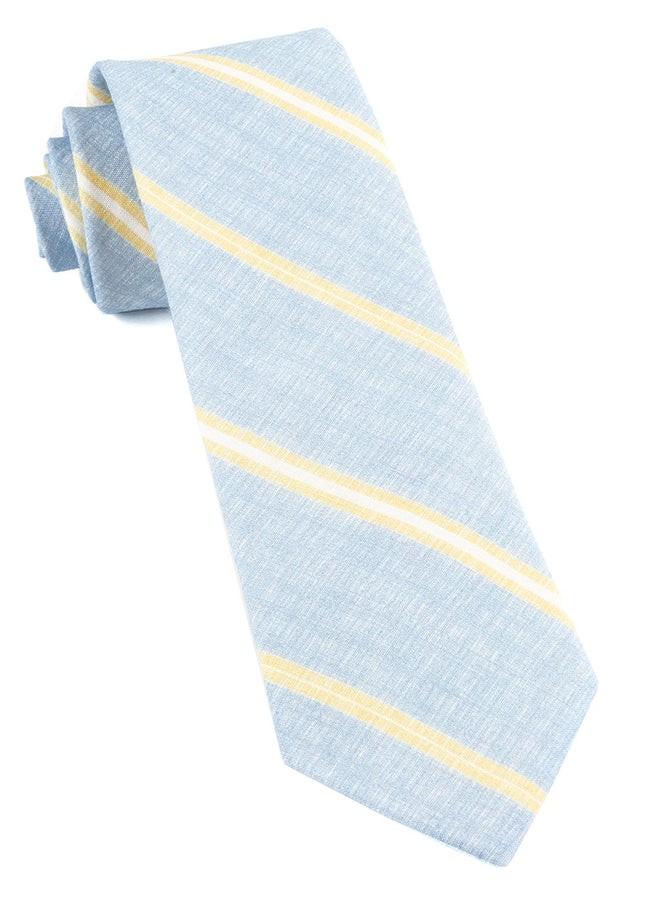 Spare Stripe Sky Blue Tie