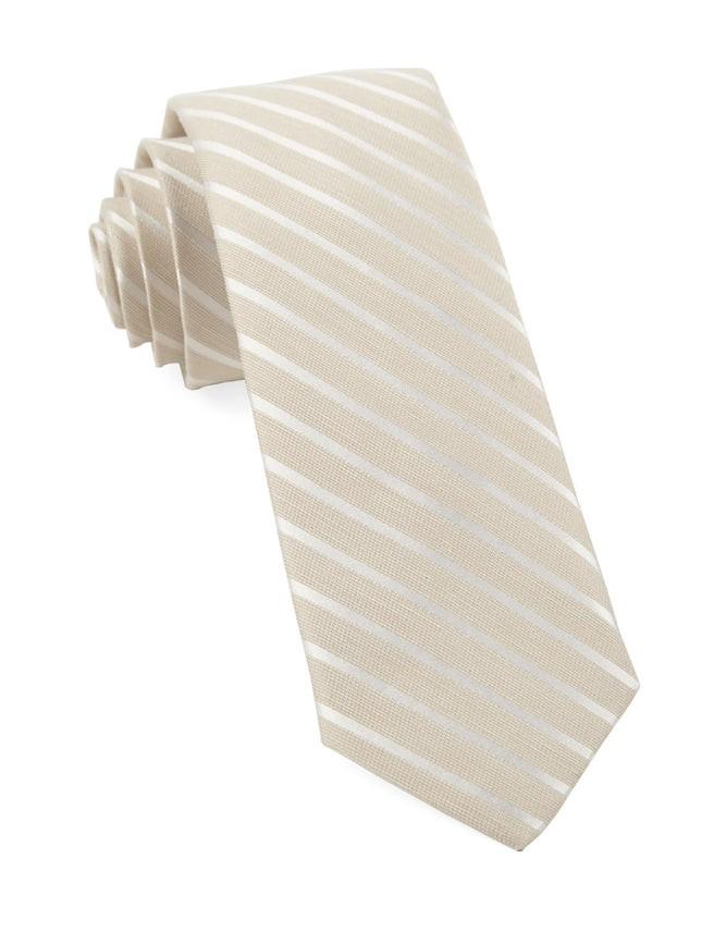 Aisle Runner Stripe Light Champagne Tie
