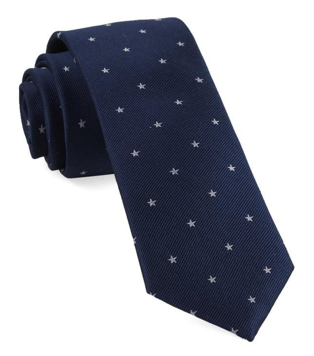 Statesman Stars Navy Tie