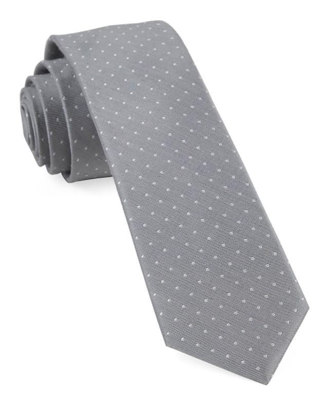 Bhldn Grey Dot Grey Tie