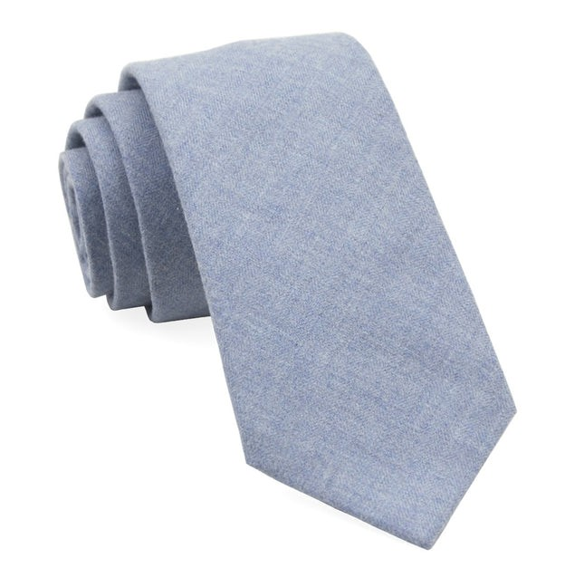 Foundry Solid Light Blue Tie