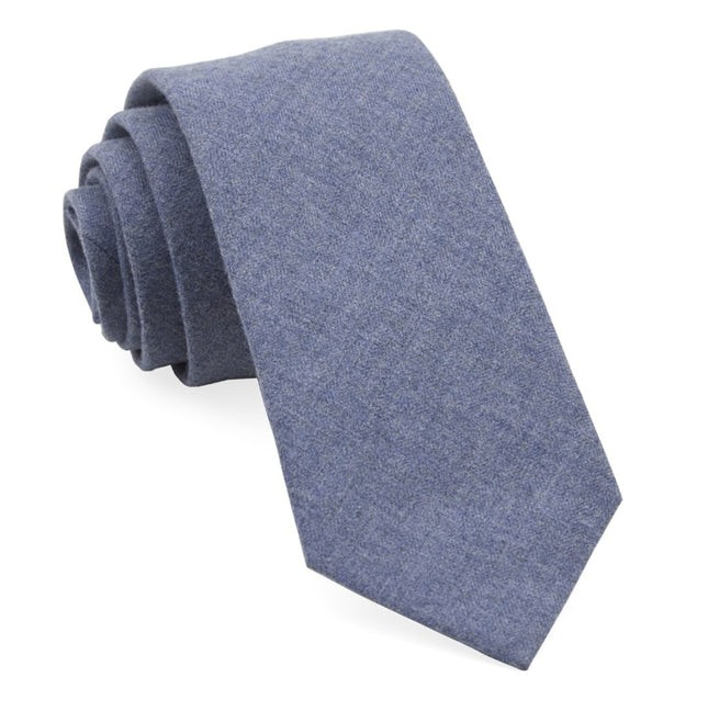 Foundry Solid Warm Blue Tie